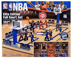 NBA C3 Construction Elite Edition Full Court Building Set
